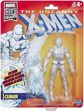 Marvel Legends The Uncanny X-Men Retro Collection Iceman Action Figure